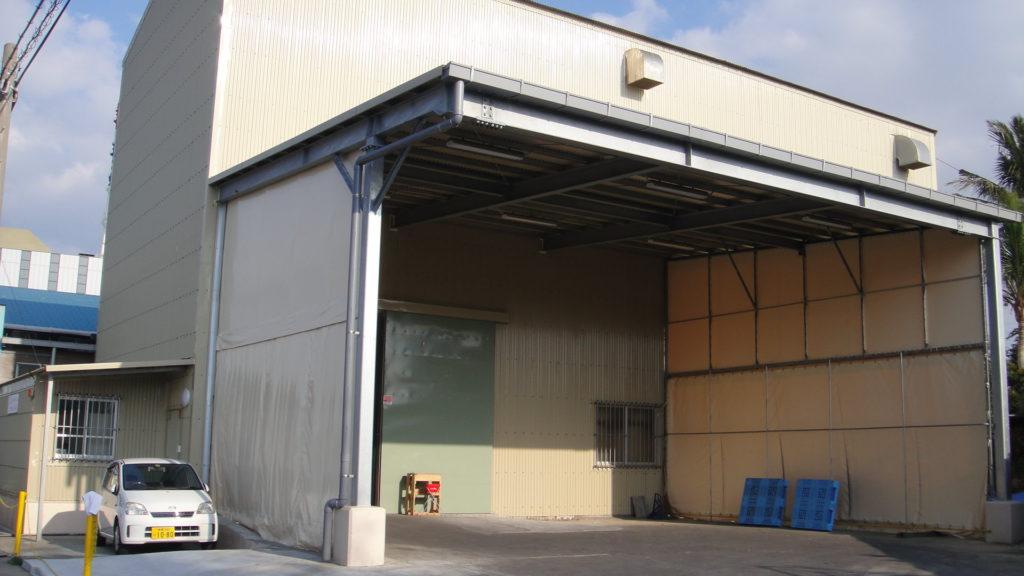 沖縄食糧 工場リノベ完成