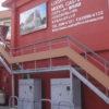 ロケーションファースト様◎スチールと木材を組合せたおしゃれな外階段を設置。