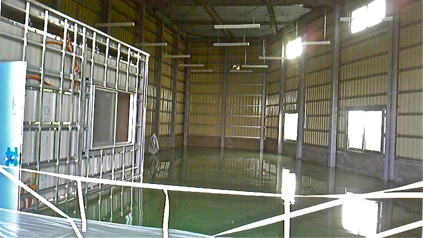 アサヒプリテック工場内部