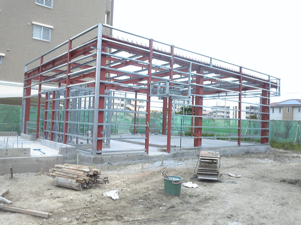 みやび 店舗建設の建て方