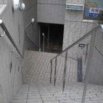 沖縄 ステンレス屋外階段手すり